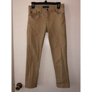Khaki jeans Ralph Lauren